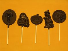 Halloween candy pops from Amanda's Own Confections are peanut-free, tree-nut-free, dairy-free, egg-free and gluten-free.