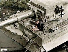 Pz.VI. Tiger I (332) - 3./s.Pz.Abt.503 - Znamenka, Russia - 4/10/43