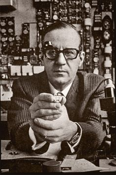 Max Hetzel invented the 360 hertz tuning fork, the technology behind the Bulova Accutron, in addition to developing the prototype. Hetzel was born in Basel, Switzerland and was one of the premier horology engineers of his time.