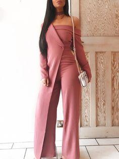 36d549eae056 Fashion Patchwork Off Shoulder Wide Leg Jumpsuit Jumpsuit Dressy