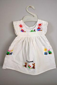Vintage El Salvador Toddler Dress Sz by babyshapes Fashion Kids, Little Girl Fashion, Toddler Dress, Baby Dress, Little Girl Dresses, Girls Dresses, Kid Styles, My Baby Girl, Kind Mode