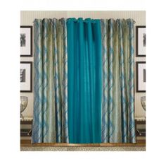 Buy Curtains In Aqua Blue Heavy Crush Material (set of 3) @ Rs. 649 Only. Visit Loomkart for crush and plain curtains online at best price