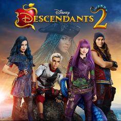 """DE TUDO UM POUCO!!: """"Descendentes 2"""" - Nova Imagem!"""