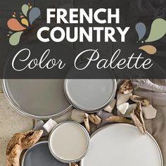Country Paint Colors, Cottage Paint Colors, French Country Colors, French Colors, French Country Cottage, Paint Colors For Home, House Colors, Paint Colours, Cottage Style