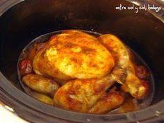 Por fin y después de una larga espera por culpa de un error que hizo que como dirección de entrega apareciese mi nombre y donde debía fig... Crockpot, Slow Cooker, Keto, Chicken, Easy, Food, Blame, Crock Pot Recipes, Recipes With Chicken