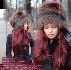 2f664cc9110 Arctic-Store designer and manufacturer of Boyaryn Luxe fur hat in Silver  fox dyed Lavacools. Original fur hats and accessories from Russia.