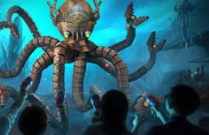How is the shoot-em-up 3-D dark ride, Voyage to the Iron Reef, at Knott's Berry Farm? Read my review.