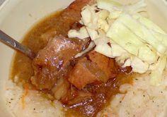 Retete simple, mancare delicioasa: Tocanita din cotlet de porc cu orez si varza cruda Mashed Potatoes, Dan, Ethnic Recipes, Food, Whipped Potatoes, Smash Potatoes, Essen, Meals, Yemek