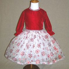 Toddler Christmas dress , red velvet , girls fancy dress , pageant dress , outfit of choice , Christmas dress , holiday dress , size 5-6