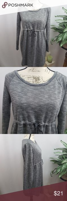H&M Mama Maternity Knit Dress M In excellent used condition  Heathered gray soft knit maternity dress by H&M.  Size medium Measurements upon request H&M Dresses
