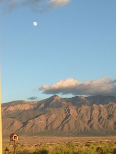 Sandias Rio Rancho, NM (View from my dining and living rooms)