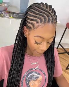 African Braids Hairstyles Pictures, Braided Hairstyles For Black Women Cornrows, Feed In Braids Hairstyles, Hairstyle Short, Cornrow Updo Hairstyles, School Hairstyles, Prom Hairstyles, Easy Hairstyles, Protective Hairstyles