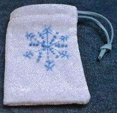 Snowflake Fairy Bag
