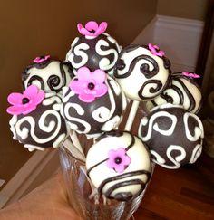 #fancy cake pops.