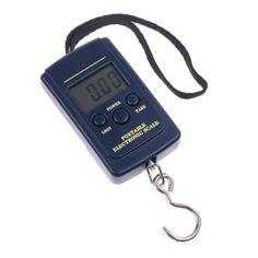 Esta balanza digital colgante portátil puede facilitar la pesaje de tus paquetes y equipajes, soporta un peso máximo de 40kg.Una herramienta útil para horgar, viaje y actividades al aire libre.Especificación:.Capacidad: 10g – 40kg;Precisión: 10g;LCD...