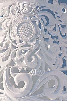 Snow Sculpture, intricate.