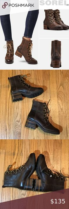 """Route 66 Women/'s Wilshire Brown Motorcycle Boot size 8 NWT 1 1//2/"""" chunky heel."""