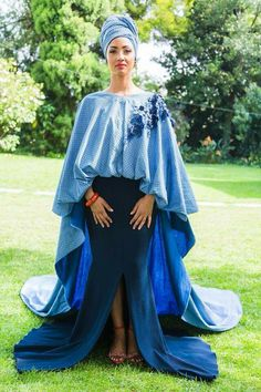 African Print Dresses, African Wear, African Fashion Dresses, African Dress, Traditional Wedding Attire, Traditional Weddings, Shweshwe Dresses, African Design, Fashion Wear