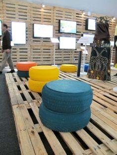 Pavillon massif couvert de 7.000 palettes à Rio +20 Exposition: TreeHugger