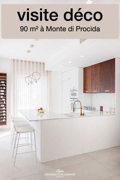 90 m² à Monte di Procida par le studio Manuarino -blog décoration intérieure architecte - Clem Around The Corner Clem, Blog Deco, Around The Corner, Studio, Architecture, Decoration, Design, Home Decor, Industrial Style