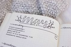 My bullet journal got some water damage to the cover when it was in my bag, so I decided to cover it up with some marble contact paper! Loving the result. Bonus: spread from a few weeks ago that I...