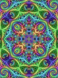 Mens Silk Pocket Square - Hexagram 4: Mêng by VIDA VIDA ixvs7wCn