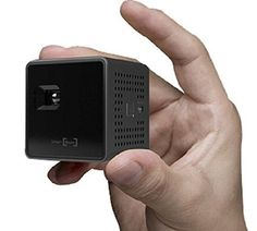 SK UO Smart Beam Portable Mini Projector (1.77-inch, Black) Product Details Color: BLACK Size: 1.77 Brand: SK UO Brand Name: SK UO Item Weight: 4.2 ounces Produ