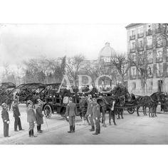 1906 Revista Servicio Incendios Paseo de la Castellana