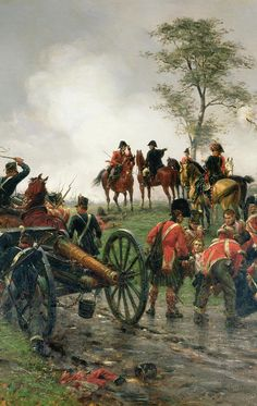 Wellington à Waterloo (E.Crofts)