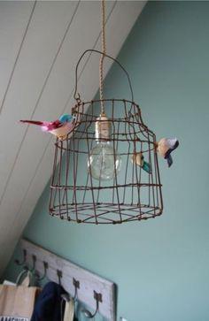 hanglamp vogelkooi