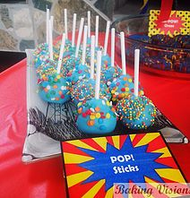 Cakepops for Henry Danger theme party Baking Visions