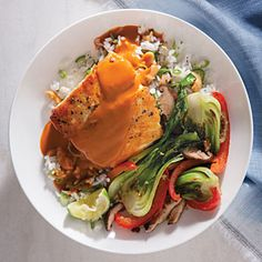 Coconut Curry Halibut Recipe | CookingLight.com #myplate, #protein