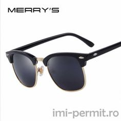 MERRY'S Men Retro Rivet Polarized Sunglasses 2016 Classic Brand Designer Unisex Sunglasses Fashion Male Eyewear ** This is an AliExpress affiliate pin. Detailed information can be found on AliExpress website by clicking on the VISIT button Sunglasses 2016, Stylish Sunglasses, Retro Sunglasses, Sunglasses Online, Polarized Sunglasses, Sunglasses Accessories, Round Sunglasses, Look Chic, Polaroid