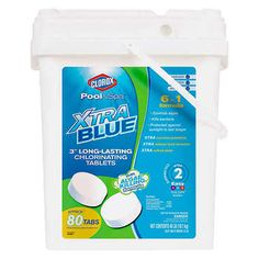 Clorox Pool&Spa XtraBlue Chlorinating Tablets - for sale online Oval Swimming Pool, Oval Pool, Above Ground Swimming Pools, Solar Cover, Pool Chlorine, Intex Pool, Spa Water, Solar Water Heater