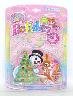 Lisa Frank Holiday Glitter Card Notecards Envelopes Stickers Paper Craft Set NIP | Home & Garden, Greeting Cards & Party Supply, Greeting Cards & Invitations | eBay!