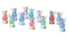 Birthstone Angel Mini Shimmerlights|Birthstone Angel Mini Shimmer Light|Shimmerlights by Midwest CBK  $5.00 Shimmer Lights, Birthstones, Glitter, Angel, Mini, Color, Birth Stones, Colour, Sequins