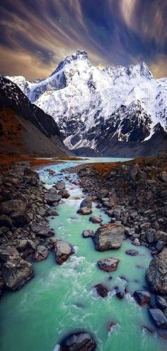 Source of Life ~ Hooker Valley, New Zealand ~ by Sam Quelle des Lebens ~ Hooker Valley, Neuseeland ~ von Sam Landscape Photography, Nature Photography, Canon Photography, Places To Travel, Places To Visit, Travel Destinations, New Zealand Landscape, New Zealand Travel, New Zealand Adventure