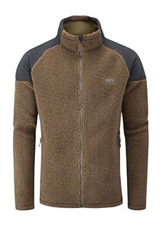 Rab Pioneer Jacket  Mens Tawny Large *** Read more info by clicking the link on the image. #mensoutdoorclothing Mens Outdoor Clothing, Outdoor Outfit, The North Face, Contrast, Sports, Jackets, Clothes, Zip, Amazon