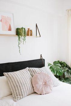 DIY Cushion Headboard (An Easy Ikea Hack!)   a pair & a spare
