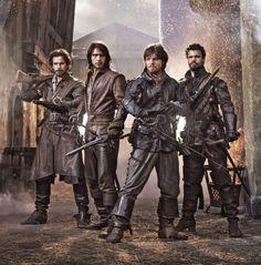The Musketeers vai acabar na 3ª temporada