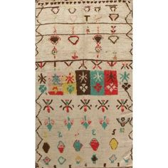 Lawrence of La Brea's moroccan collection. This rug is 4x7. Perfectly see it in a play room or a kid room. Or even a hobo living room !
