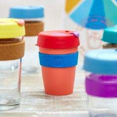 Yes! KeepCup introduces new Pretty colours - The Tasting Notes collection 💙