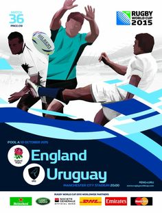 Anglaterra vs Uruguai #RWC2015 #ENG vs #URU #CarryThemHome vs #VamosTero