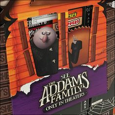 A perfect pairing for the Holiday is this Addams Family Halloween-Candy Cross-Sell. Both movie characters and candy treats peek through the haunted house. Family Halloween, Halloween Candy, Hershey Candy, All Candy, Candy Store, Movie Characters, Pallet, Retail, Holiday