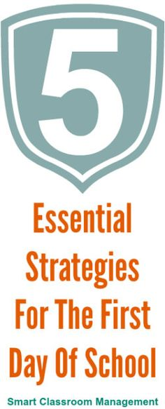Smart Classroom Management: 5 Essential Strategies For The First Day Of School