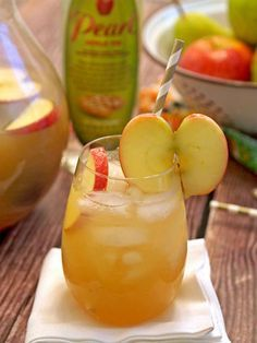 Fruity Fall Drink: Apple Pear Punch