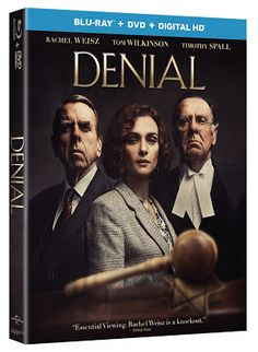 Academy Award Winner Rachel Weisz Tom Wilkinson And Timothy Spall Star In The Inspirational True Story Of A Battle For Justice: DENIAL