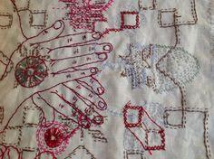 stitch - Willemien de Villiers | Prayer for Atoms, detail
