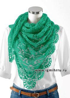 mis pasatiempos amo el crochet¡¡¡¡:): Mantón delicado con esquema