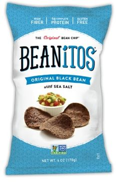I love these chips. Jason eats them too. They are crunchy and I'm obsessed with black beans.